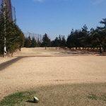 昭和の森ゴルフコース アウトコース1番ホール