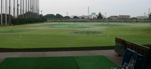 昭和の森ゴルフコース アカデミー練習場