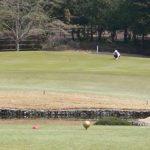 立野クラシック・ゴルフ倶楽部のアウトコース4番パー3の写真