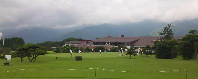 朝霧ジャンボリーゴルフクラブの風景