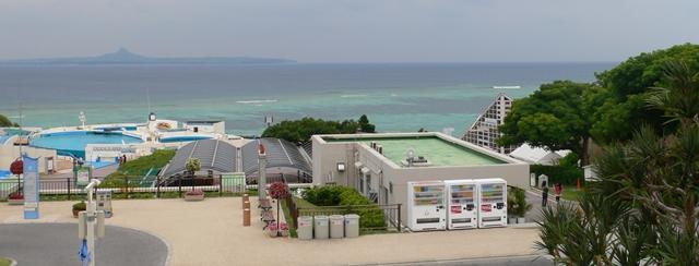 美ら海水族館から見える景色