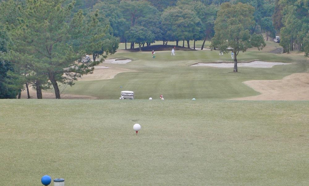 立野クラシック・ゴルフ倶楽部インコース12番ホール