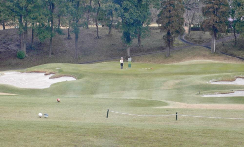 立野クラシック・ゴルフ倶楽部インコース13番ホール