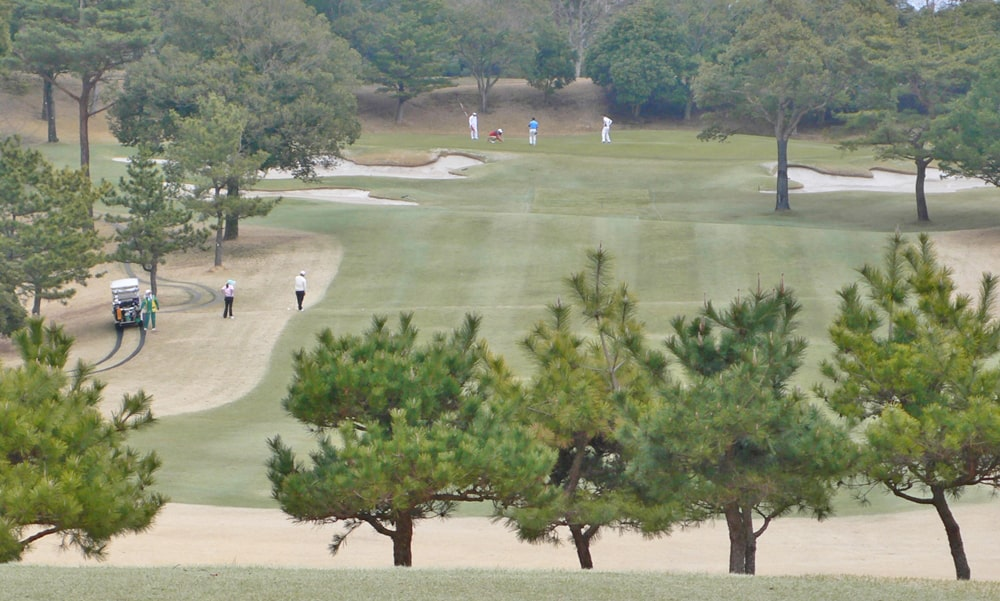 立野クラシック・ゴルフ倶楽部インコース15番ホール