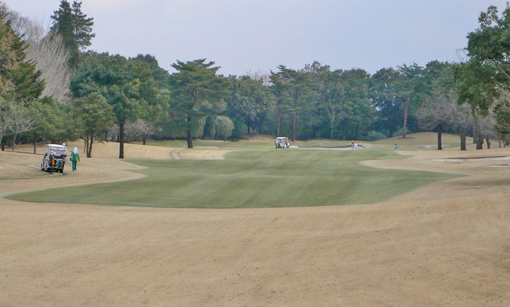 立野クラシック・ゴルフ倶楽部インコース16番ホール