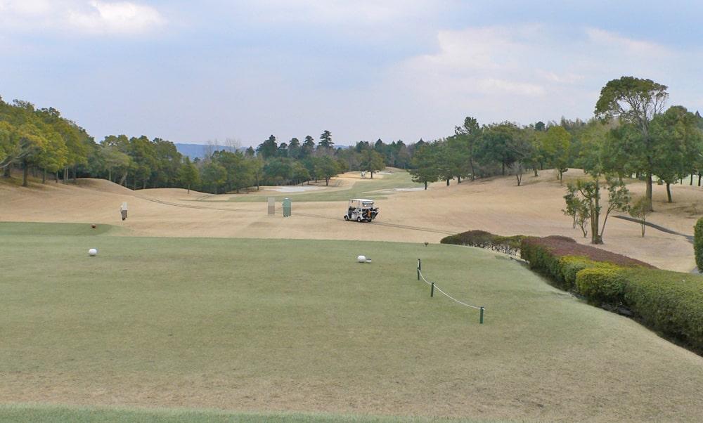 立野クラシック・ゴルフ倶楽部アウトコース1番ホール