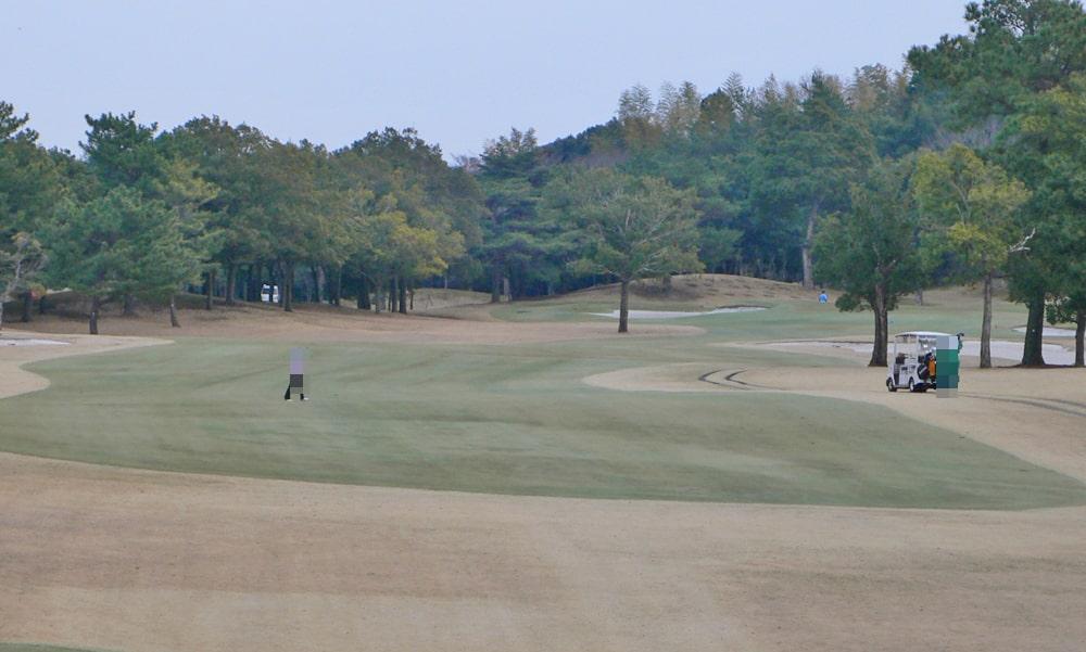 立野クラシック・ゴルフ倶楽部アウトコース5番ホール