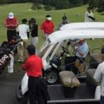 ゴルフコンペの画像