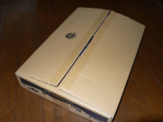アイアンカバーが入っていた箱