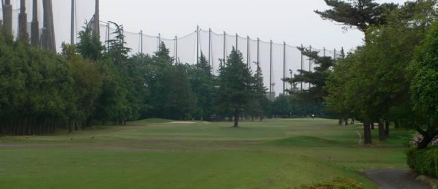 昭和の森ゴルフコース ハーフプレー