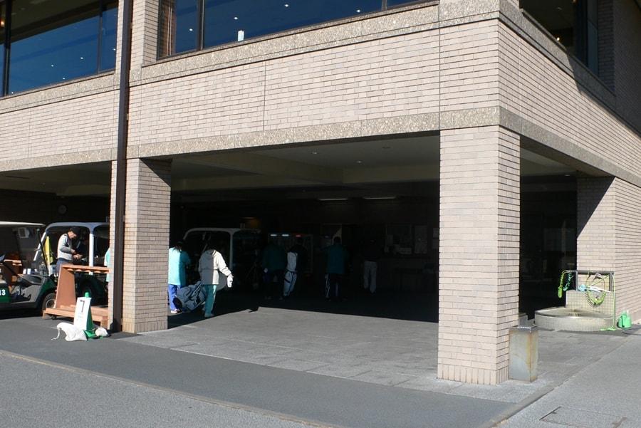 ゴールド栃木プレジデントカントリークラブのクラブハウス