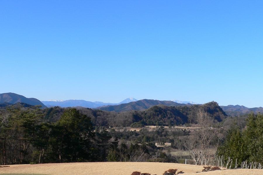 ゴールド栃木プレジデントカントリークラブから見えるきれいな景色