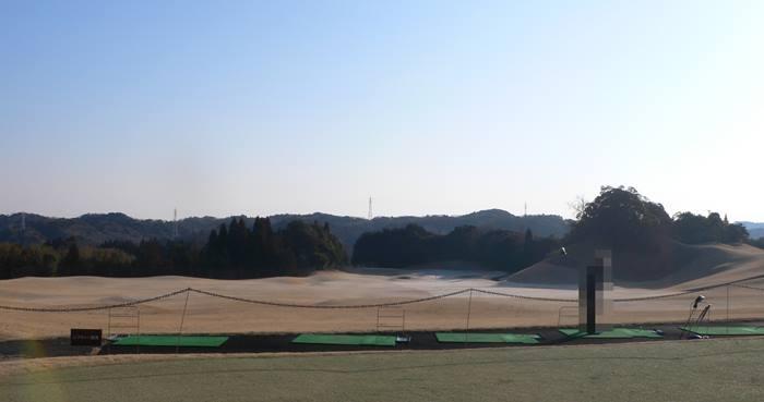 森永高滝カントリー倶楽部の練習場の写真