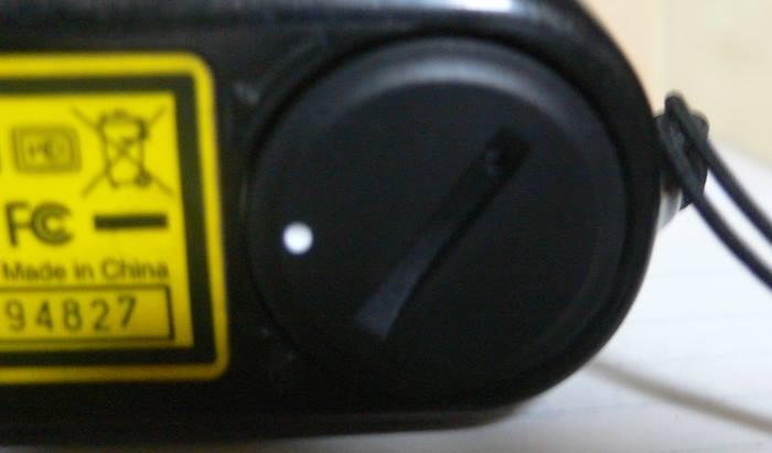 対策品のバッテリーカバーを装着