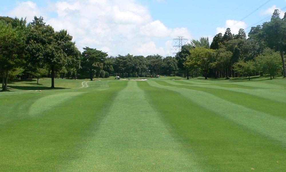 立野クラシック・ゴルフ倶楽部インコース16番ホール 2打目地点