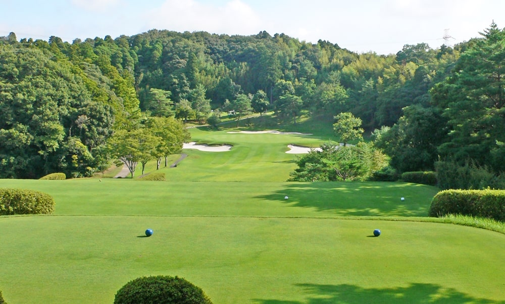 立野クラシック・ゴルフ倶楽部アウトコース2番ホール