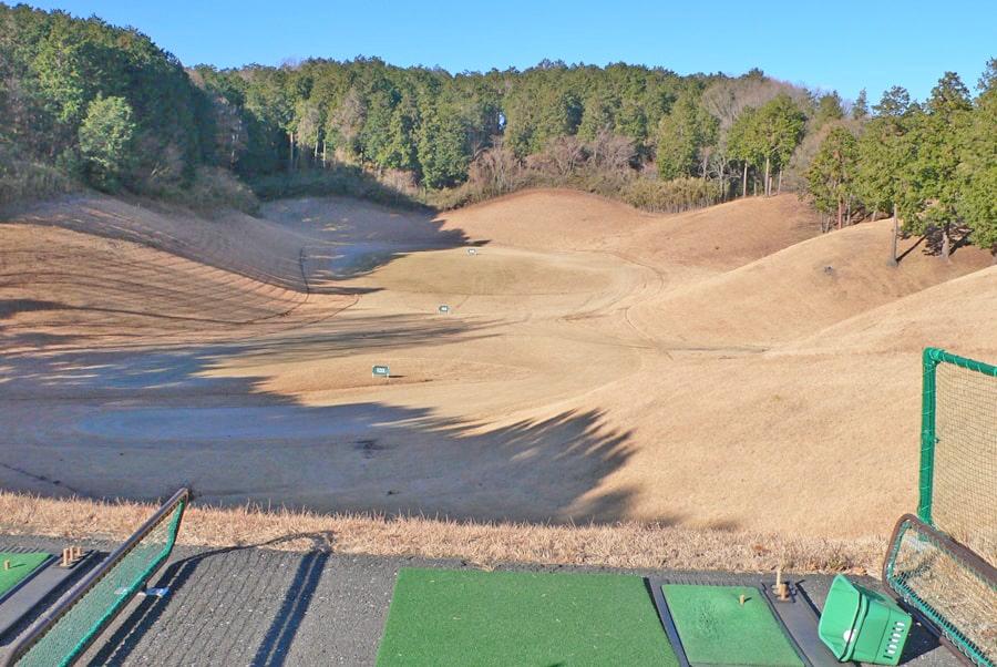 武蔵丘ゴルフコースの練習場
