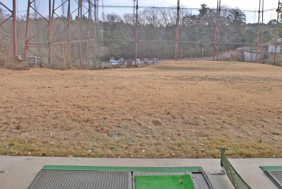 越生ゴルフクラブの練習場