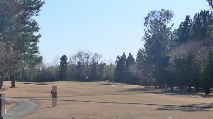 浦和ゴルフ倶楽部INコース11番ホール