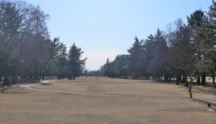 浦和ゴルフ倶楽部INコース13番ホール