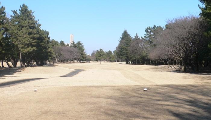 浦和ゴルフ倶楽部INコース14番ホール
