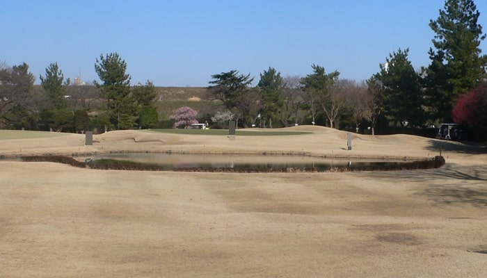 浦和ゴルフ倶楽部INコース15番ホール