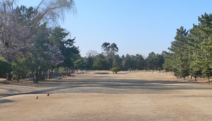 浦和ゴルフ倶楽部INコース16番ホール
