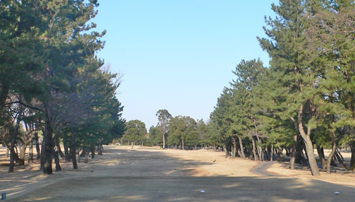 浦和ゴルフ倶楽部INコース18番ホール