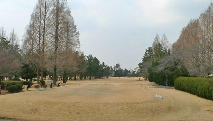 浦和ゴルフ倶楽部OUTコース3番ホール