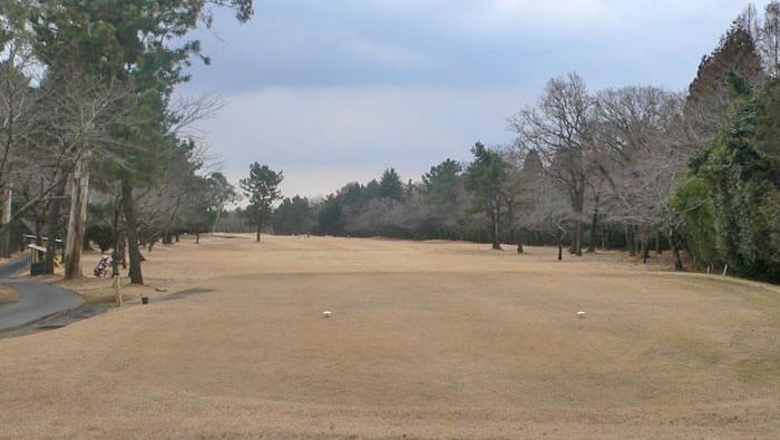 浦和ゴルフ倶楽部OUTコース7番ホール