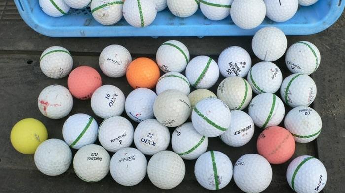 浦和新日本練習場のボール