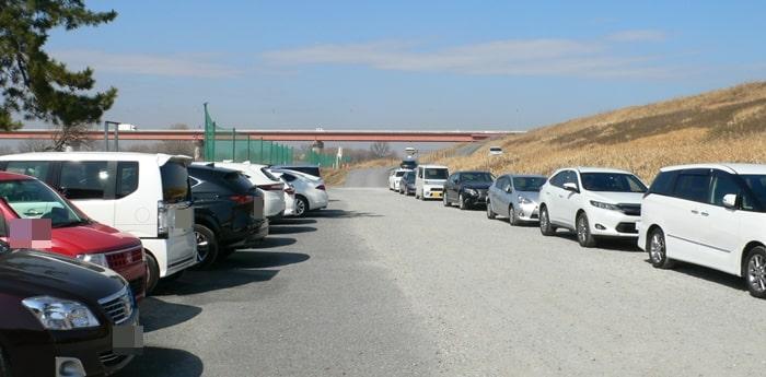 浦和新日本ゴルフ練習場の駐車スペース