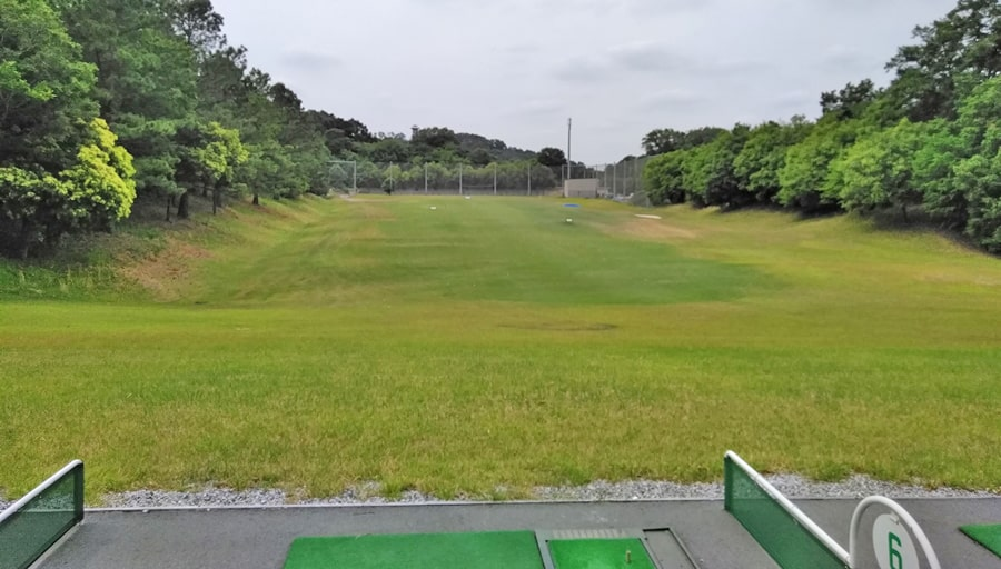 おおむらさきゴルフ倶楽部の練習場
