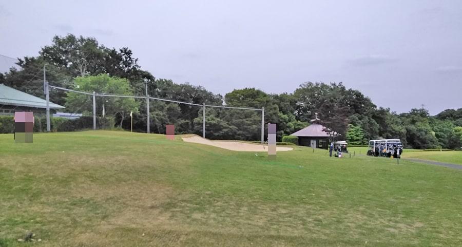 おおむらさきゴルフ倶楽部のアプローチ練習場