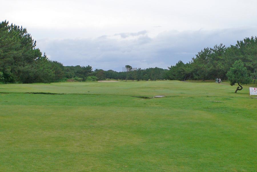 茅ヶ崎ゴルフ倶楽部の7番ホール
