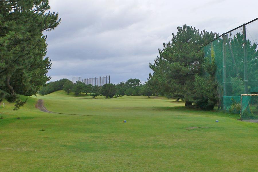 茅ヶ崎ゴルフ倶楽部の9番ホール