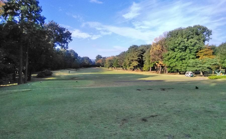 昭和の森ゴルフコース IN10番ホール