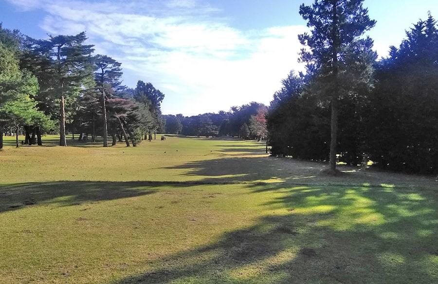 昭和の森ゴルフコース IN12番ホール