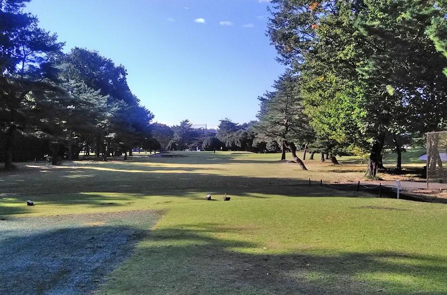 昭和の森ゴルフコース IN13番ホール