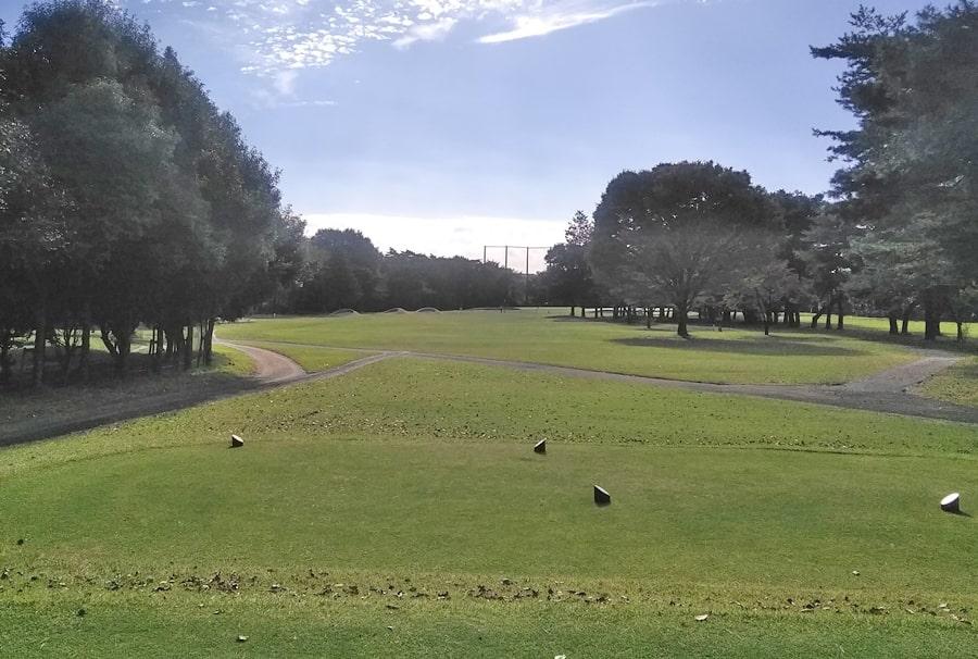 昭和の森ゴルフコース IN14番ホール