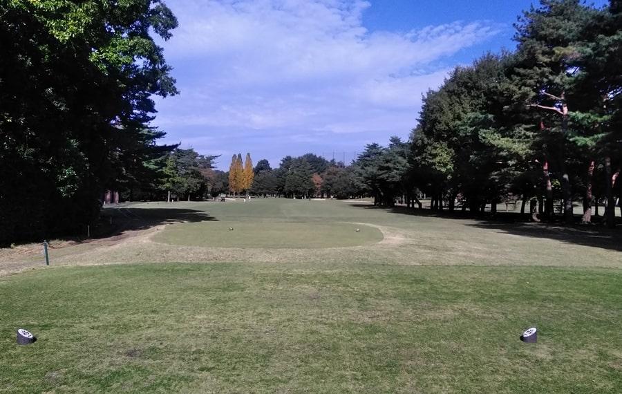 昭和の森ゴルフコース IN15番ホール