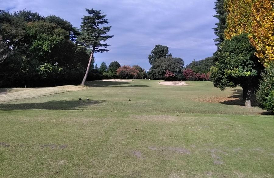 昭和の森ゴルフコース IN16番ホール
