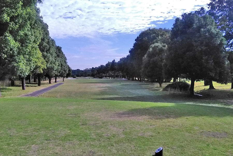昭和の森ゴルフコース IN17番ホール
