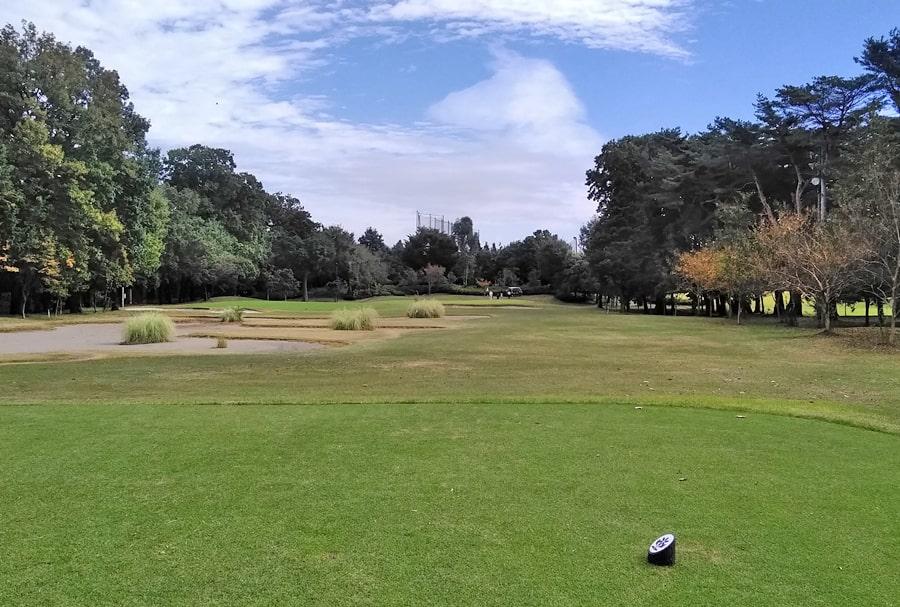昭和の森ゴルフコース IN18番ホール