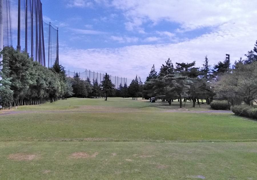 昭和の森ゴルフコース OUT1番ホール