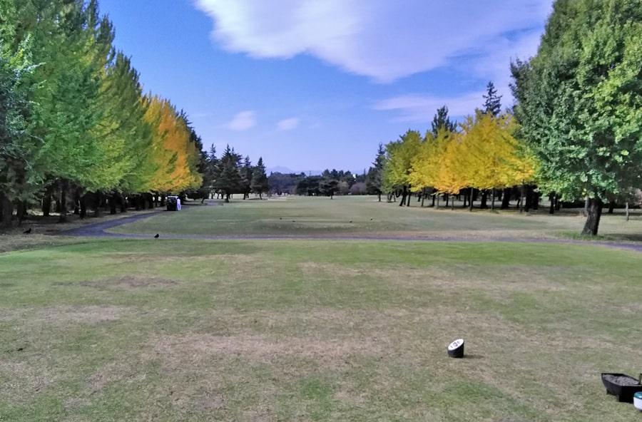 昭和の森ゴルフコース OUT3番ホール