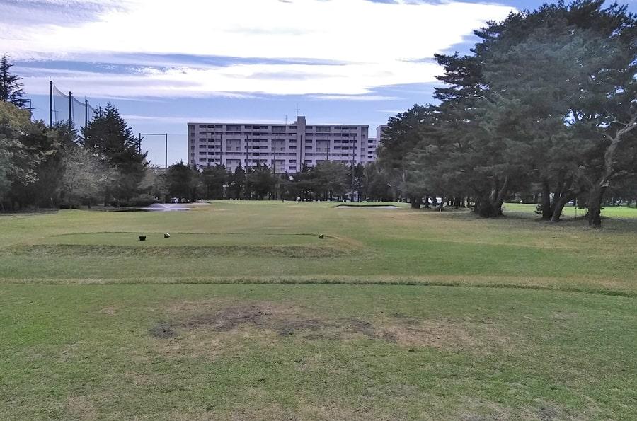 昭和の森ゴルフコース OUT5番ホール