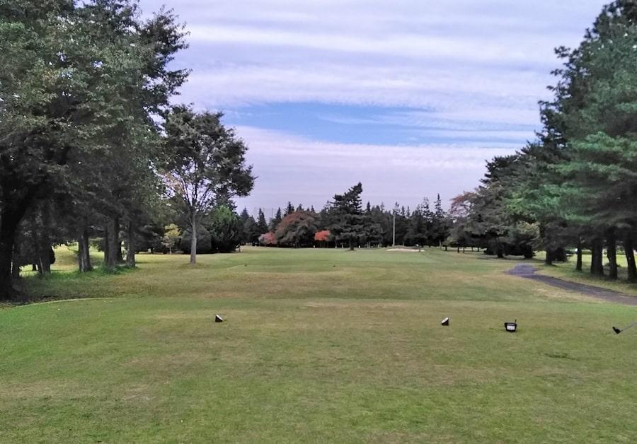 昭和の森ゴルフコース OUT6番ホール