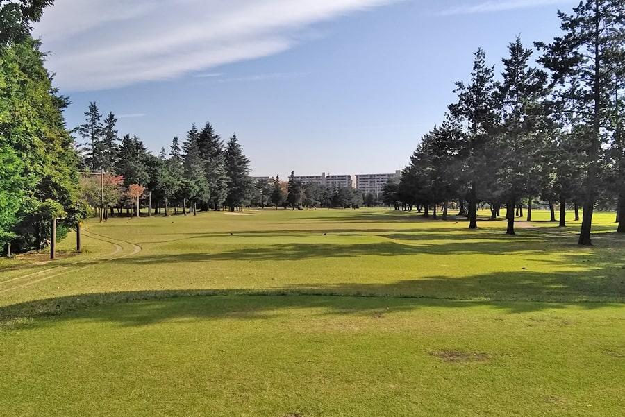 昭和の森ゴルフコース OUT8番ホール