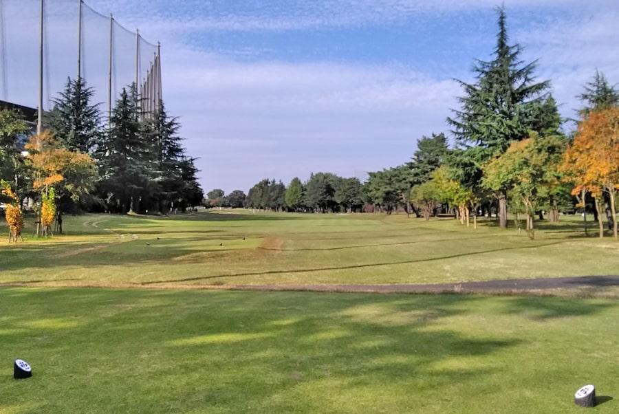 昭和の森ゴルフコース OUT9番ホール
